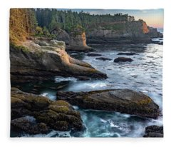 Cape Flattery Fleece Blanket