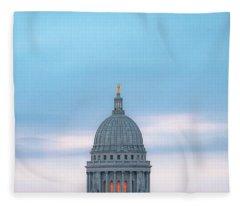 Capitol Clouds Fleece Blanket