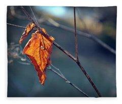 Captured In Light Fleece Blanket