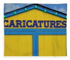 Caricatures Fleece Blanket