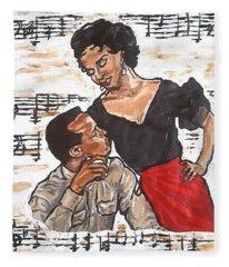 Carmen Jones - That's Love Fleece Blanket