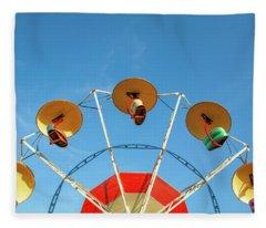 Carnival Fan Fleece Blanket