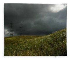 Caroni Grasslands Fleece Blanket