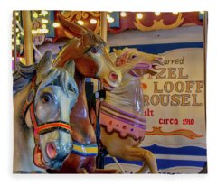 Carousel Friends Fleece Blanket