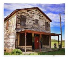 Carter's Store In Goochland Virginia Fleece Blanket
