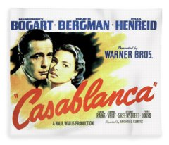 Casablanca Fleece Blanket