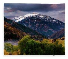 Cascade Mountain Fleece Blanket