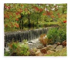 Cass Dam Fleece Blanket