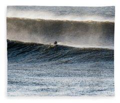 Catching The Wave Fleece Blanket