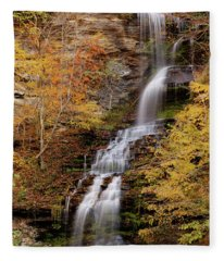 Cathedral Falls Fleece Blanket