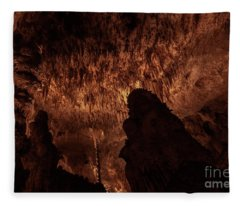 Cathedral Of Nature Fleece Blanket