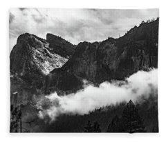 Cathedral Rocks Fleece Blanket