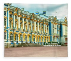 Catherine Palace Fleece Blanket