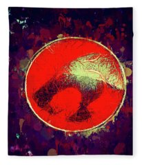 Thundercats Logo Fleece Blanket