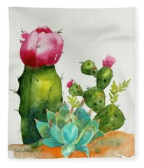 Cactus  Fleece Blanket
