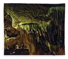 Cave Shields Hdr Fleece Blanket