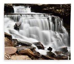 Cayuga Falls Fleece Blanket