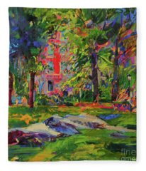 Cedar Hill, Central Park Fleece Blanket