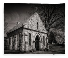 Cedar Hill Chapel Fleece Blanket