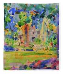 Cedar Hill, Manhattan Fleece Blanket