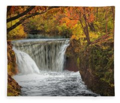 Cedarville Falls Fleece Blanket