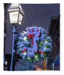 Celebrate The Season Fleece Blanket