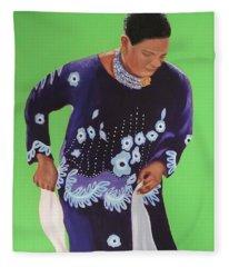 Celebrating Heritage 1 Fleece Blanket