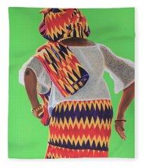 Celebrating Heritage 2 Fleece Blanket