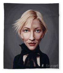 Celebrity Sunday - Cate Blanchett Fleece Blanket