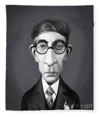 Celebrity Sunday - Constantine P. Cavafy Fleece Blanket