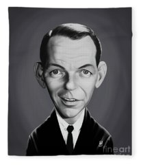 Celebrity Sunday - Frank Sinatra Fleece Blanket