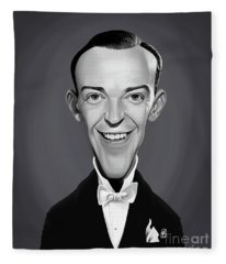 Celebrity Sunday - Fred Astaire Fleece Blanket