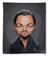 Celebrity Sunday - Leonardo Dicaprio Fleece Blanket