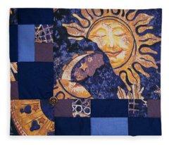 Celestial Slumber Fleece Blanket