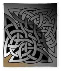 Celtic Shield Knot 7 Fleece Blanket