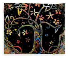 Celtic Tree Of Life Fleece Blanket