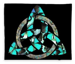 Celtic Triquetra Or Trinity Knot Symbol 2 Fleece Blanket