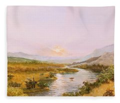 Charon's Sabbatical Fleece Blanket