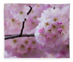 Cherry Blossom 8624 Fleece Blanket