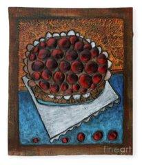 Cherry Pie Fleece Blanket