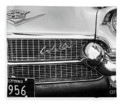 Chevrolet  1956 Fleece Blanket