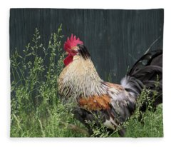 Chicken Fleece Blanket