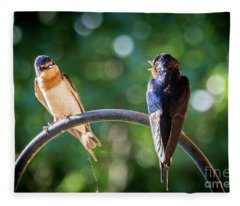 Chirping Fleece Blanket