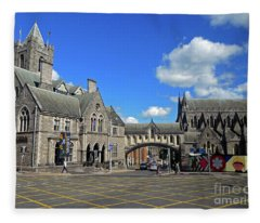 Christ Church Fleece Blanket