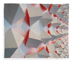 Chromoplastic Mural Fleece Blanket