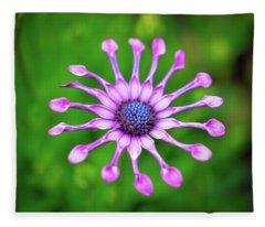 Circular Fleece Blanket