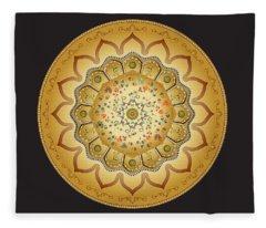 Circumplexical No 3469 Fleece Blanket