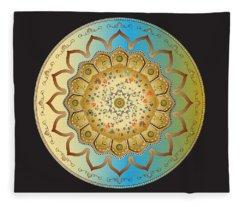 Circumplexical No 3470 Fleece Blanket