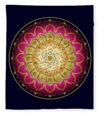 Circumplexical No 3474 Fleece Blanket