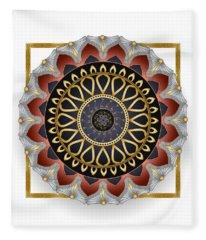 Circumplexical No 3483 Fleece Blanket